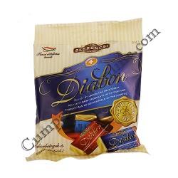 Bomboane dietetice de ciocolata si de lapte Diabon 80 gr.
