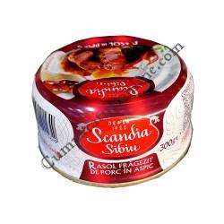 Rasol fragezit de porc in aspic Scandia 300 gr.