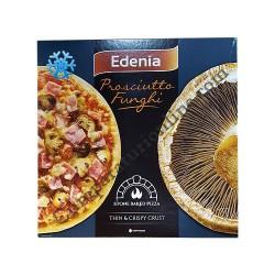 Pizza Prosciutto Funchi Edenia 345 gr.