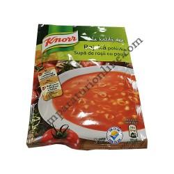 Supa de rosii cu paste Knorr 70 gr.