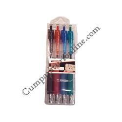 Set pix gel roller grip 0,7 Edding 4 culori