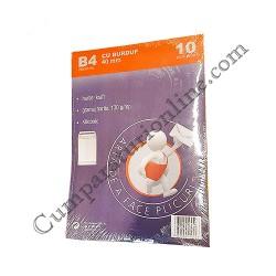 Plic B4 cu burduf kraft Romkuvert 10 buc./set pret/buc.