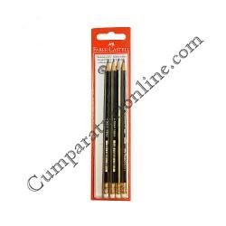 Set creioane Goldfaber cu radiera Faber 4 buc./set pret/buc.