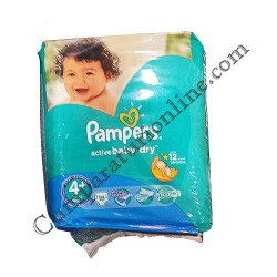 Scutece Pampers Active Baby Maxi Plus Regular nr. 4 18 buc.