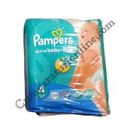 Scutece Pampers Active Baby Maxi Regular nr. 4 20 buc.