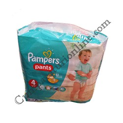 Scutece Pampers Pants Carry Pack nr.4 24 buc.
