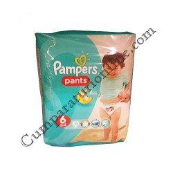 Scutece Pampers Pants Carry Pack nr.6 19 buc.