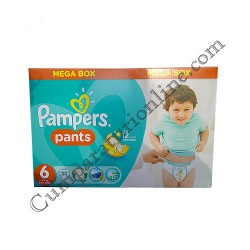 Scutece Pampers Pants nr.6 88 buc.