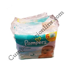 Servetele umede Pampers Fresh 6x64 buc.
