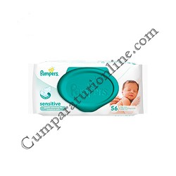 Servetele umede Pampers Sensitive 56 buc.