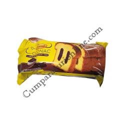 Cozonac cu crema de ciocolata - rom Boromir 450 gr.