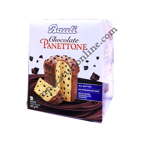 Panettone Chocolate Chunks Bauli 500 gr.