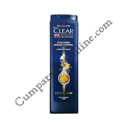 Sampon Clear Men Refreshing Grease Control cu extract de lamaie 250 ml.