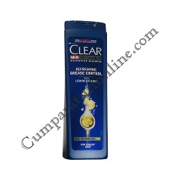 Sampon Clear Men Refreshing Grease Control cu extract de lamaie 400 ml.