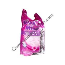 Asternut igienic pentru pisici Miau-Miau Silicat Fresh 8 l.