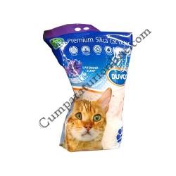 Asternut igienic pentru pisici Silicat Lavanda Duvo 5 l.