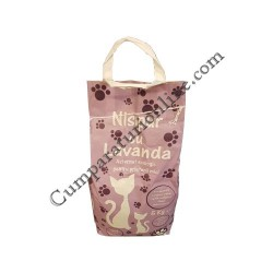 Nisip pentru pisici Nisipur cu lavanda 5 kg.