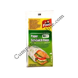 Pungi sandwich hartie Fino 40 buc.