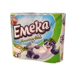 Hartie igienica Emeka Mountain Fresh 3 str. 4 role