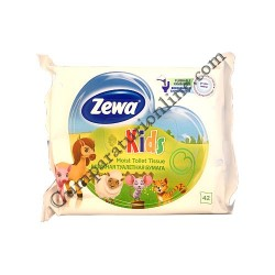 Hartie igienica umeda Zewa Kids 42 buc.