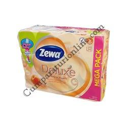 Hartie igienica Zewa Deluxe Cashmere Peach 3 str. 24 role