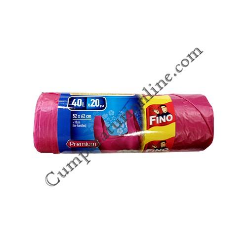 Saci menajeri cu manere 52x62 40l. Fino Color Premium 20 buc.