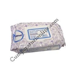 Servetele hidratante antibacteriene pentru maini Igienol 60 buc.