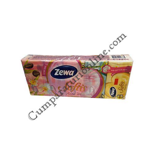 Batiste Zewa Softis Asian Spa 10 buc./set pret/buc.