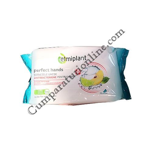 Servetele umede antibacteriene Elmiplant 72 buc.