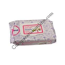 Servetele antibacteriene pentru maini Igienol 60 buc. Mar