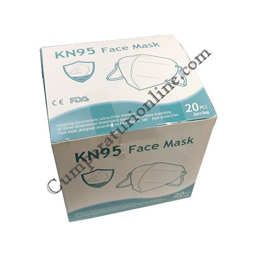 Masca fata KN95 20 buc./cut. Zass