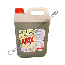 Detergent lichid pentru geamuri Ajax Flower Spring 5l.