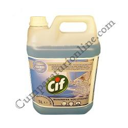 Detergent lichid pentru geamuri si alte suprafete Cif Professional 5l.