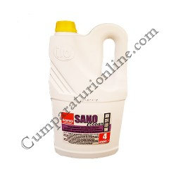 Detergent lichid pentru geamuri si alte suprafete Sano Clear 4l.