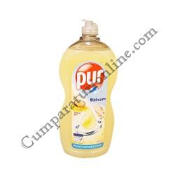 Detergent lichid vase Pur 1,35l. balsam ulei de argan