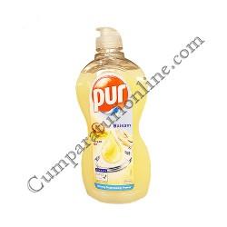 Detergent lichid vase Pur 450 ml. balsam ulei de argan