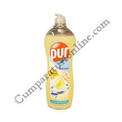 Detergent lichid vase Pur 900 ml. balsam ulei de argan