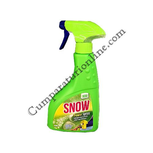 Detergent pentru pete cu pulverizator Snow Color Bright 450 ml.