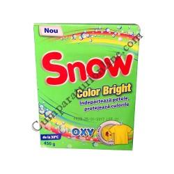 Detergent pudra pentru pete Snow Color Bright 450 gr.