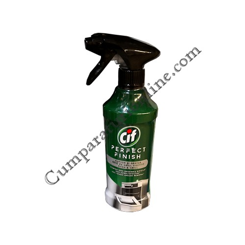 Detergent spray aragaz si cuptor Cif Perfect Finish 435 ml.