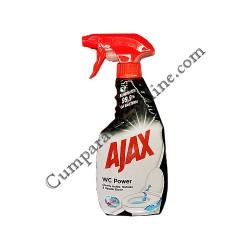 Detergent WC Power Spray Ajax 500 ml.
