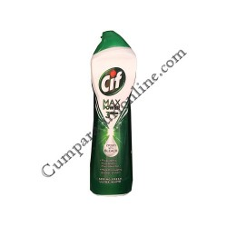 Lichid abraziv Cif crema Max Power 3Action 500 ml. Spring Fresh