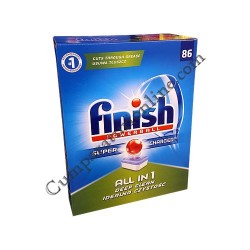 Detergent masina de vase Finish Powerball All in 1 Deep Clean 86 buc.