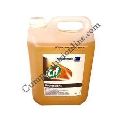Detergent profesional pentru lemn Cif 5l.