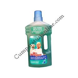 Detergent universal pentru locuinte cu animale de companie Mr. Proper Pets 1l.