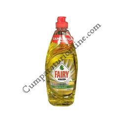 Detergent lichid de vase Fairy Pure & Naturals Citrice 650 ml.