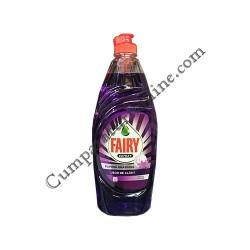Detergent lichid de vase Fairy Pure & Naturals Liliac 650 ml.