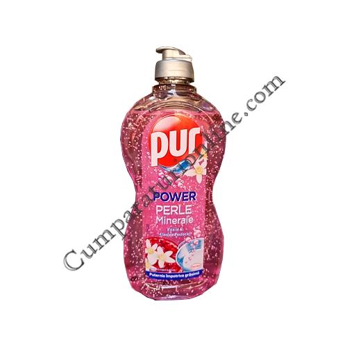 Detergent lichid vase Pur Power Perle Minerale 450 ml. Rodie