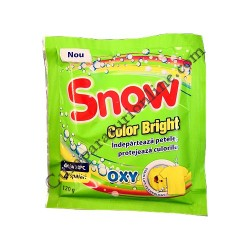 Detergent pudra pentru pete Snow Color Brite 120 gr.