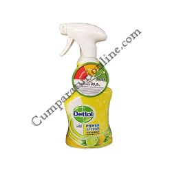 Detergent dezinfectant multisuprafete Dettol 500 ml. Lemon